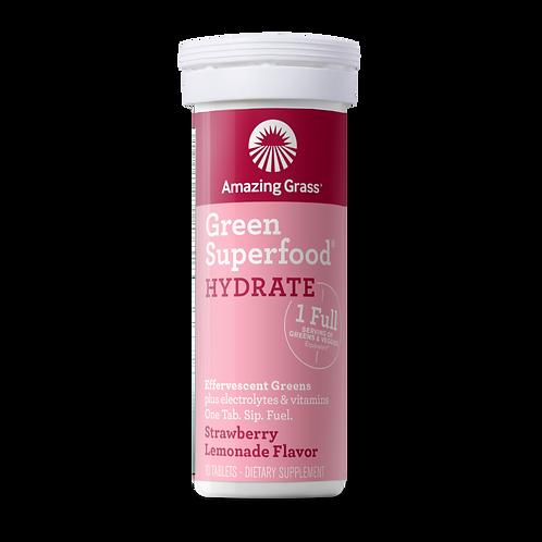 Amazing Grass -Effervescent Hydrate Strawberry Lemonade
