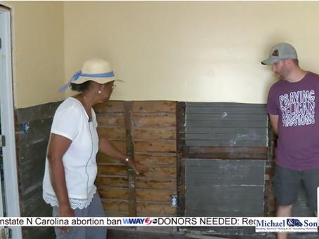 Volunteers rebuild heart of Fair Bluff to reignite a community