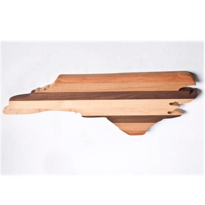 North Carolina shaped cutting board