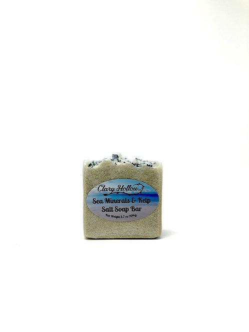 Sea Minerals & Kelp Salt Soap Bar