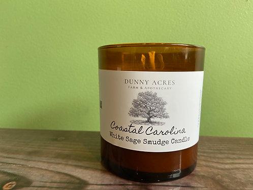 Coastal Carolina White Sage Smudging Candle