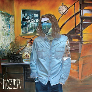 "Album cover of Hozier's debut studio album, titled ""Hozier"", released in 2014"