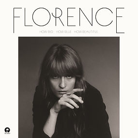 Album cover of How Big, How Blue, How Beautiful, the third studio album by Englishindie rockbandFlorence and the Machine, released in 2015