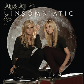 """Album cover of Aly and AJ's """"Insomniatic"""""""