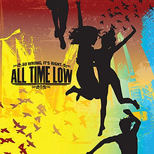"""Album cover of All Time Low's """"So Wrong, It's Right"""""""