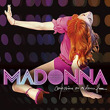 """Album cover of Madonna's """"Confessions on a Dance Floor"""""""