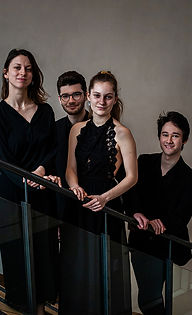 0707 Photo Quatuor Kalik (crédit Frauke