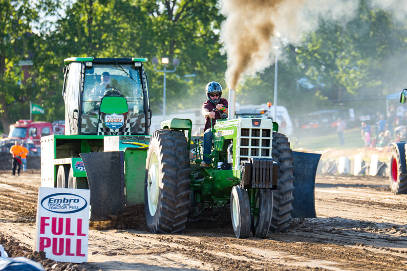 Embro Truck and Tractor Pull