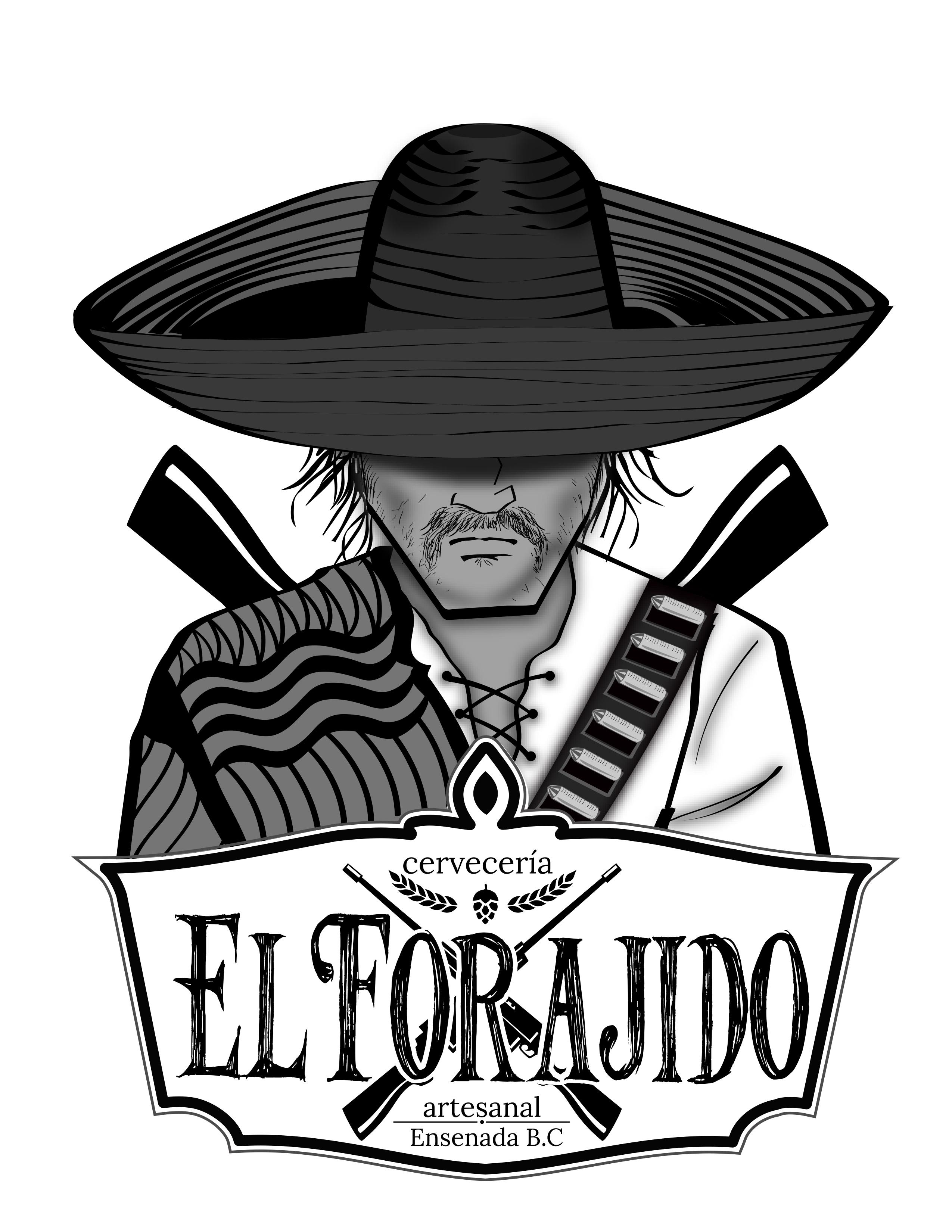 LOGO CERVECERIA EL FORAJIDO