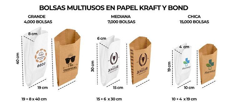 MANGO DIGITAL BOLSAS MULTIUSOS DE PAPEL