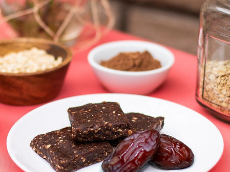 🤩No-Bake Vegan Date Brownies