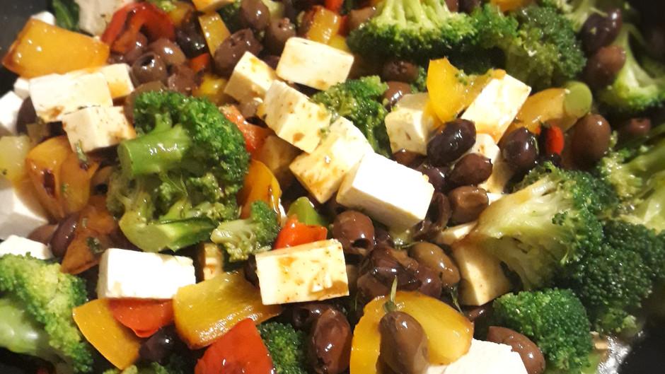 Colorful, hot veggies