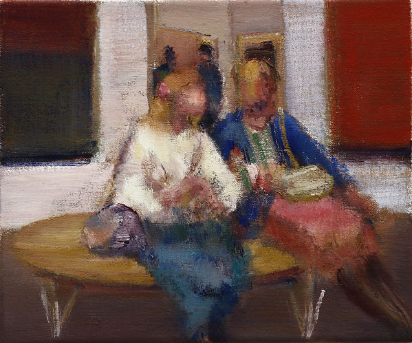 49. Gallery study 5 (10in x 12.5in) oil