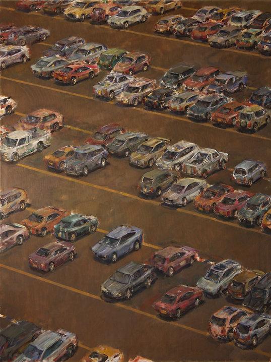 31. Car park XIV ( 82in x 57in, 205x145c