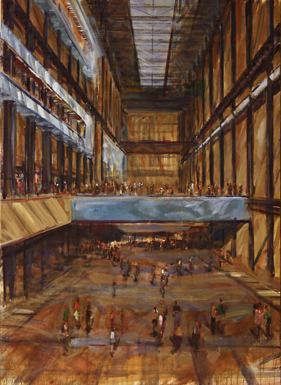 5. Turbine Hall  ( 79in x 55in, 200cm x