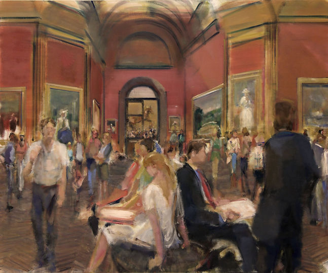 18. National Gallery II (47in x 57in,  1