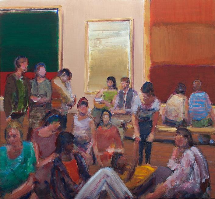 Gallery II (69in x 77in, 175cm x 195cm)