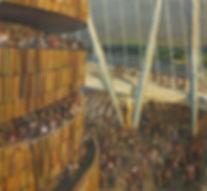 4. Opera I  (75in x 79in, 190cm x 200cm)