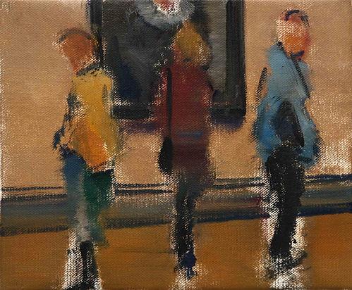 73. Study for gallery (25cm x 30cm, 10%2
