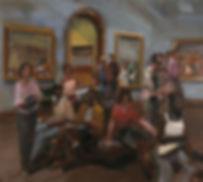2. Glyptothek ( 180cm x 195cm) acrylic o