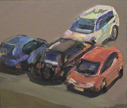 15.Study for car park (9in x12in, 28x32c