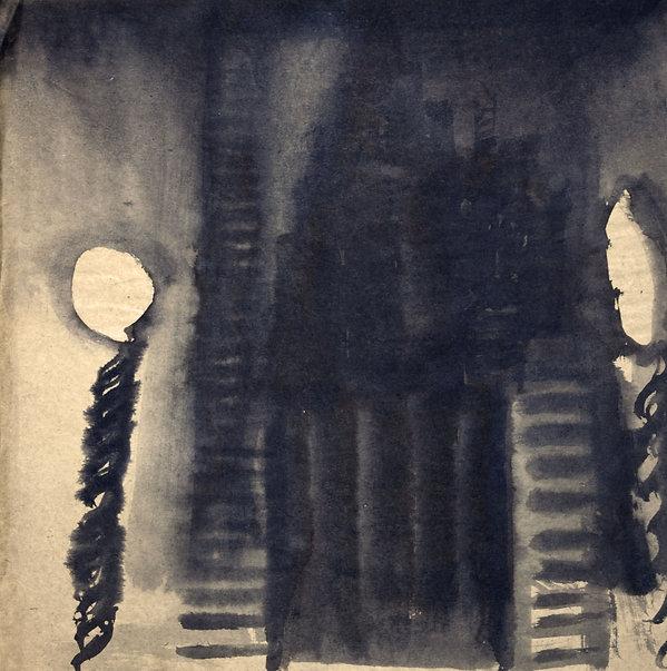 9e. Selçuk 1 ( 40cm x 36cm) ink on pape