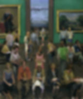 17. National Gallery III (61in x51in,  1