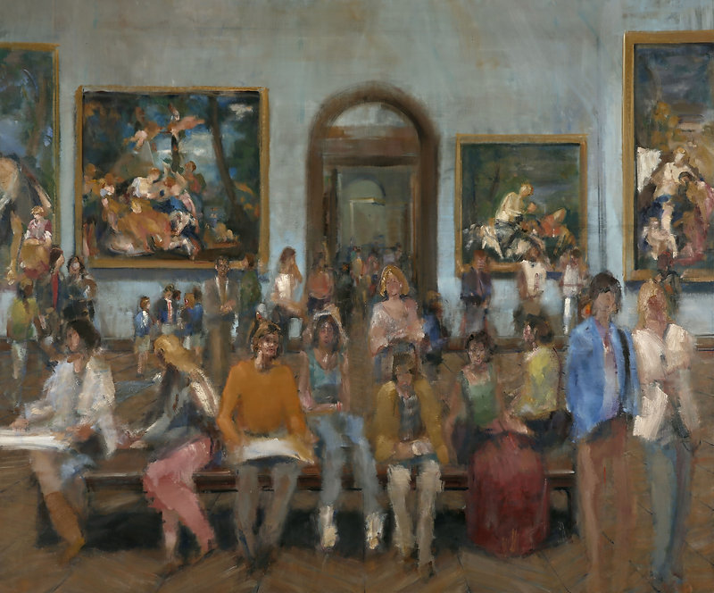 5. Veronese I ( 200cm x 240cm ) oil on l