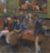 8. Veronese III ( 165cm x 155cm ) oil on
