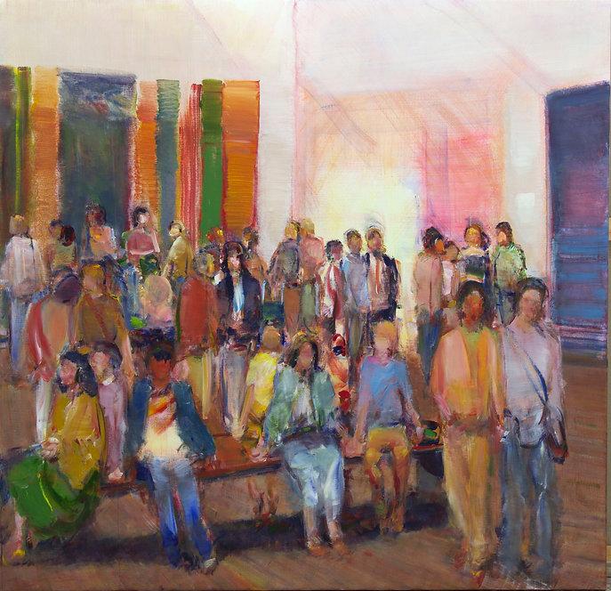 5. Gallery IX (55in x 65in, 155cm x 165c