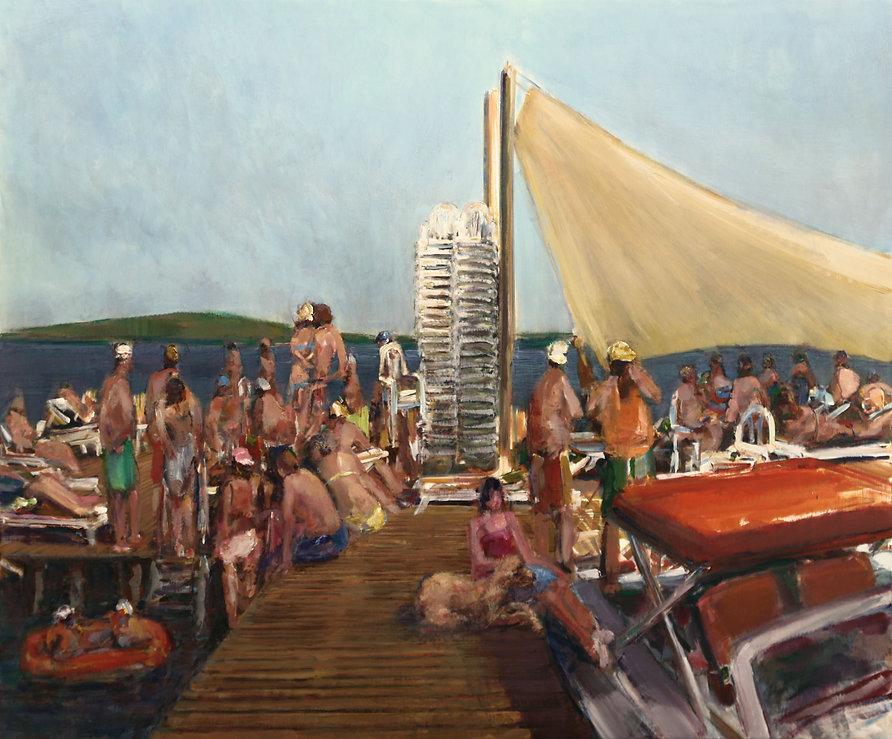 20. Southern Pier ( 200cm x 240cm) acryl