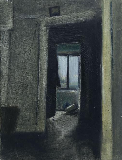 6. Cihangir (30cm x 22cm) oil on canvas,