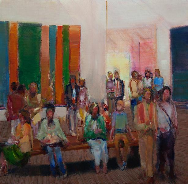Gallery IX (55in x 65in, 155cm x 165cm)