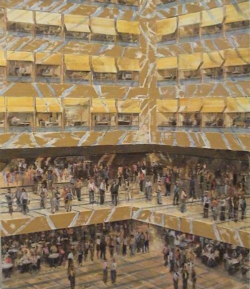 9.Kirchberg atrium ( 65in x 55in, 165x14