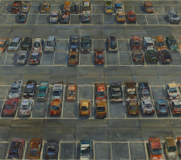 6. Car Park 6 ( 57 in x 65 in, 140cm x 1