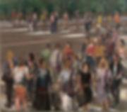 24. Crossing IV (x57in, 140cm x 160cm) o