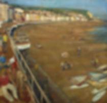 31. Promenade VI (195cm x200cm) oil on l