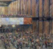 26.  Bankside (61in x 65in, 155cm x 165