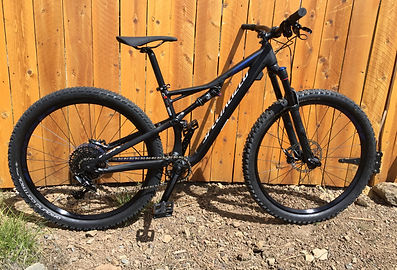 Rent a full suspention mountain bike today at Bike Truckee.  Bike Truckee is Tahoe's premie ebike, mountain bike, and comfort bike rental operation.