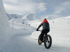 man use electric bicycle, e-bike, ebike,