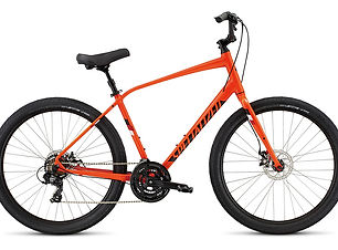 We offer both Specialized andKHS comfort bikes. These are the ultimate plush ride with a comfy seat, and a comfortable riding position. Rent a bike today from Bike Truckee, Tahoe's premier bike rental shop.