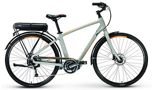 Rent your ebike or eMTB today at Bike Truckee. The range one the Path Plus will get you where you want to go. The efficient Shimano mid drive motor coupled with the larger wheels make this bike a distance warrior. Discbrakes, a rack, and fenders make it a commuters dream.