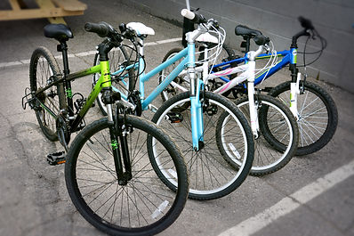 Kids love to ride too!  Rent your child a mountain or comfort bike for your children today from Bike Truckee, Tahoe's premier bike rental shop.  We offer a full selection of bikes for kids of all ages.