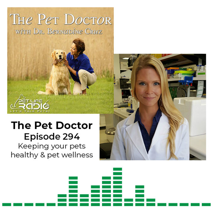 MiDOG on Pet Life Radio: Tune in to this podcast episode of The Pet Doctor with Dr. Bernadine Cruz & Dr. Janina Krumbeck