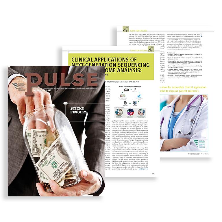 Read about MiDOG in SCVMA Pulse Magazine