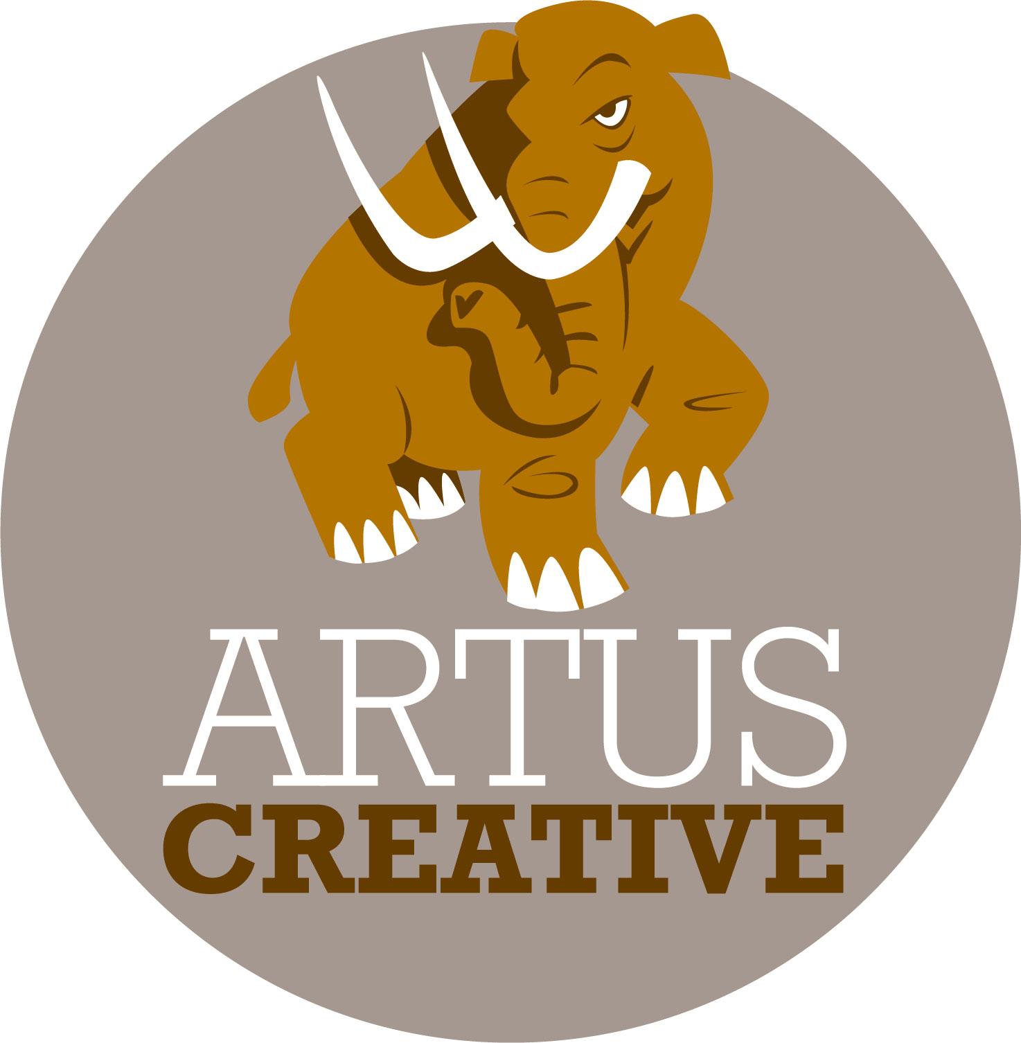 Artus Creative mammoth logo v2