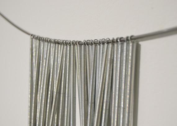 Material Sketch: steel, springs, tacks
