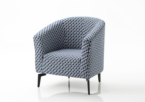 Fauteuil Jacquard Victor