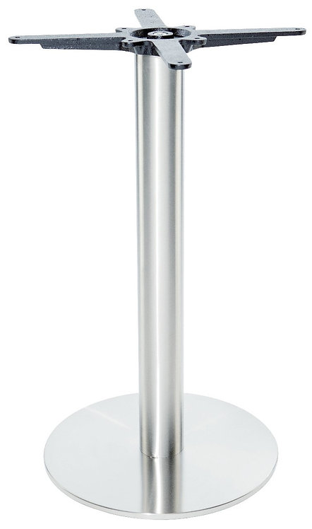 Pied de table INOX 03 base ronde diamètre 40 cm