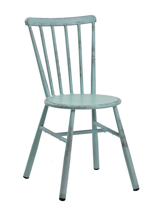 Chaise à barreaux vintage
